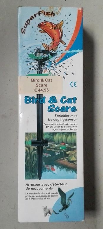 Vijverbeveiliging Bird & Cat scare Superfish