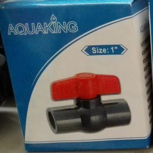 """Aquaking - Kogelkraan Lijm size 1"""""""