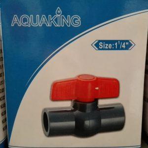 """Aquaking - Kogelkraan  Lijm size 1 1/4"""" (40 mm)"""