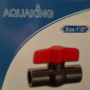 """Aquaking - Kogelkraan  Lijm size 1 1/2"""" (50mm)"""