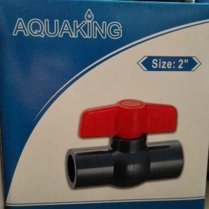 """Aquaking - Kogelkraan  Lijm size 2"""" (63mm)"""
