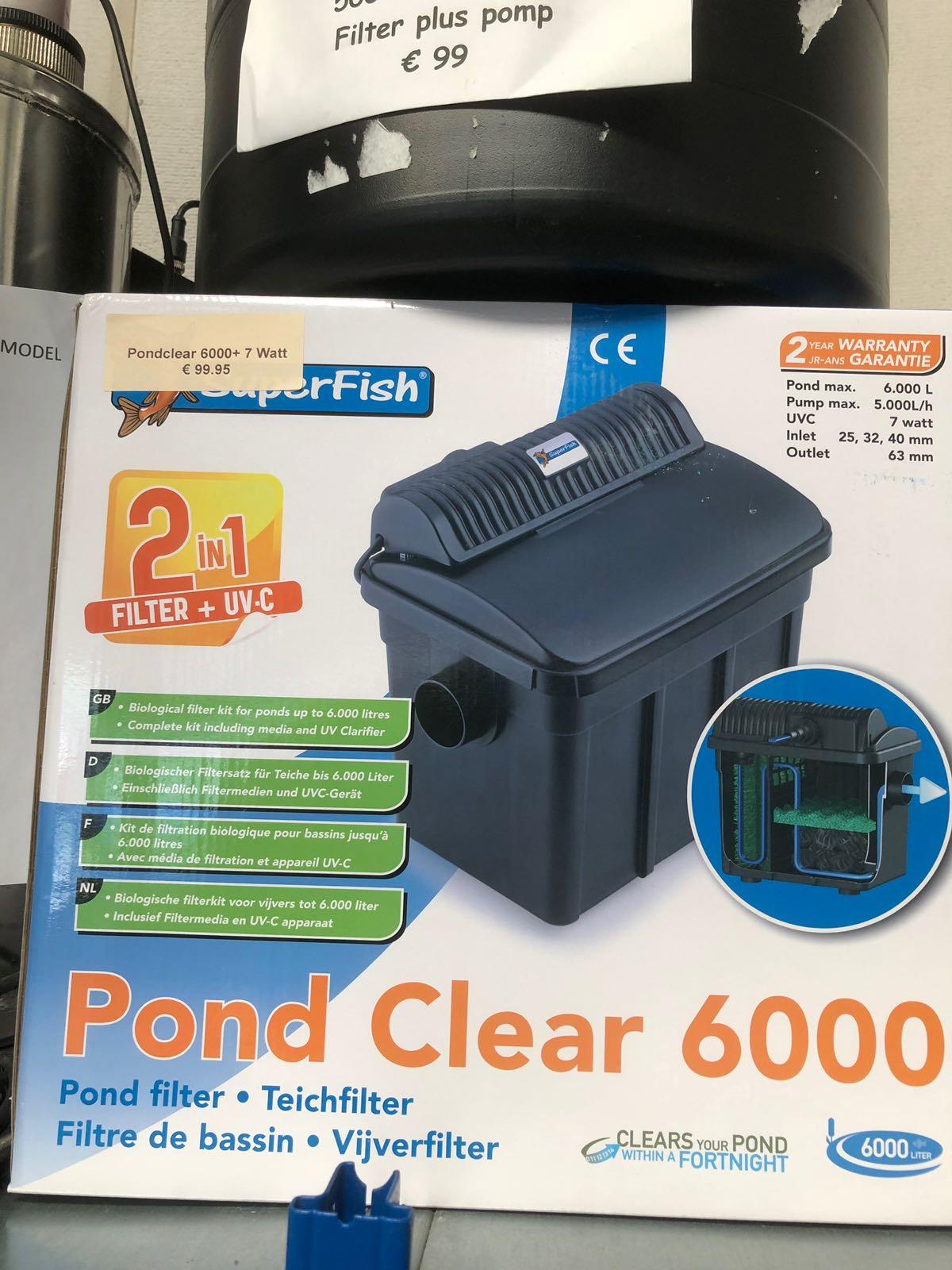 Superfish Pondclear 6000